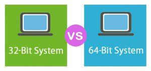 Operating System Windows 64 Bit Vs 32 Bit