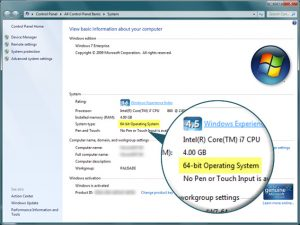 Windows 64 Bit Operating System The Pros
