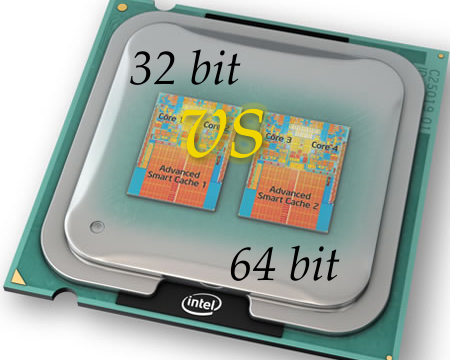 32 bit Serta 64 bit Yang Mengacu Pada Program Perangkat Yang Ada Pada Komputer